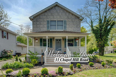 Red Bank Single Family Home Under Contract: 33 Chapel Hill Road