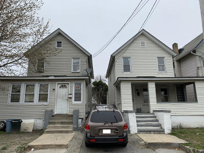 Asbury Park Multi Family Home Under Contract: 1027-1027 Mattison Avenue
