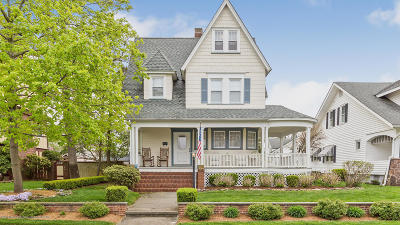 Avon-by-the-sea, Belmar Single Family Home Under Contract: 314 Woodland Avenue
