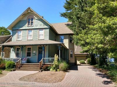 Bay Head Single Family Home For Sale: 258 Osborne Avenue