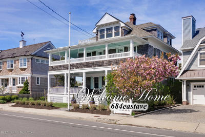Bay Head Single Family Home Under Contract: 684 East Avenue