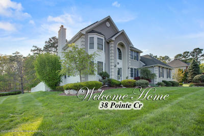 Jackson Single Family Home For Sale: 38 Pointe Circle