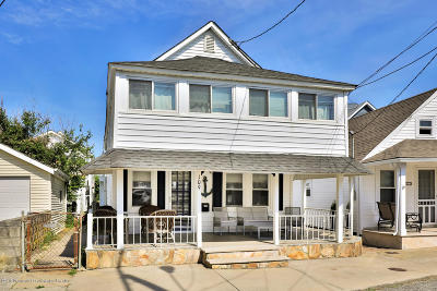 Bradley Beach Single Family Home For Sale: 109 Kent Avenue