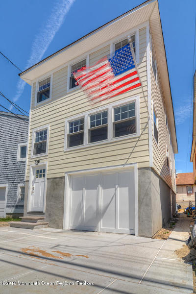 Point Pleasant Beach Multi Family Home Under Contract: 126 Ocean Avenue