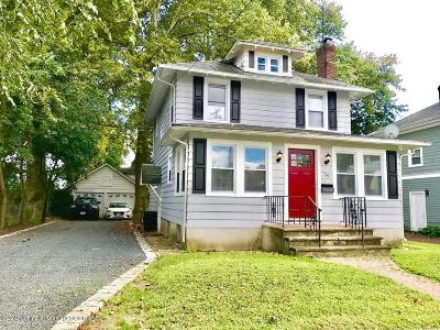 Red Bank Single Family Home For Sale: 39 W Sunset Avenue