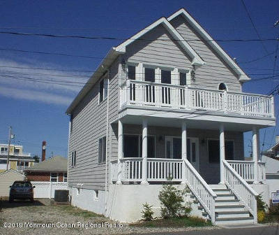 Sea Bright Single Family Home For Sale: 12 Riverview Place