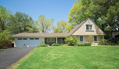Matawan Single Family Home For Sale: 16 Lakeridge Drive