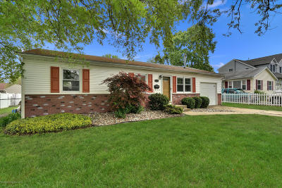 Hazlet Single Family Home Under Contract: 38 Liberty Place
