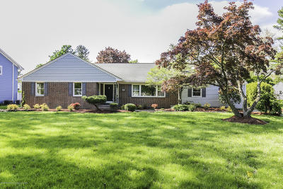Freehold Single Family Home For Sale: 91 Dutch Lane Road