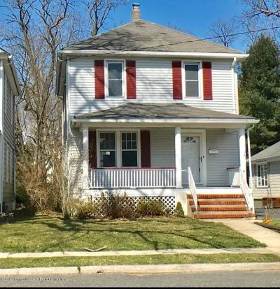 Red Bank Single Family Home For Sale: 15 Elm Place