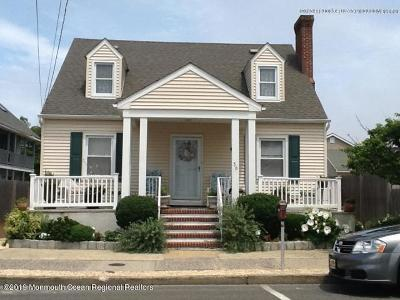 Seaside Heights Single Family Home For Sale: 36 Hamilton Avenue