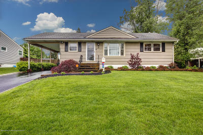 Hazlet Single Family Home Under Contract: 18 N Parkview Terrace