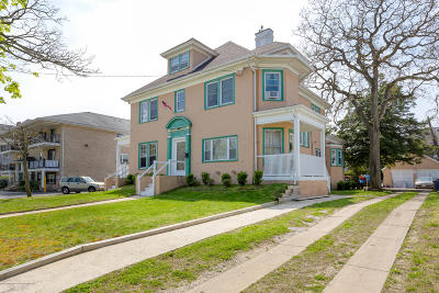 Asbury Park Multi Family Home For Sale: 406 6th Avenue