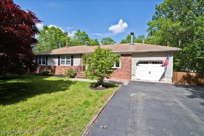 Howell Single Family Home Under Contract: 208 Tyrpak Road