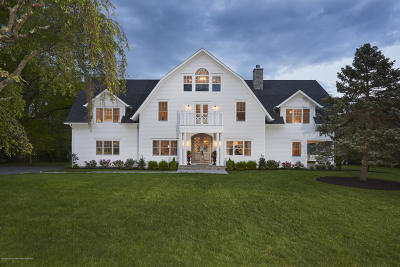 Rumson Single Family Home For Sale: 11 Sailers Way