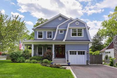 Monmouth County Single Family Home For Sale: 34 Park Avenue
