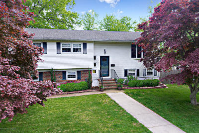 Long Branch, Monmouth Beach, Oceanport Single Family Home For Sale: 280 Jersey Avenue