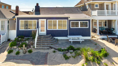 Manasquan Single Family Home For Sale: 171 Beach Front