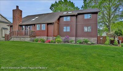 Long Branch, Monmouth Beach, Oceanport Single Family Home For Sale: 70 Algonquin Avenue