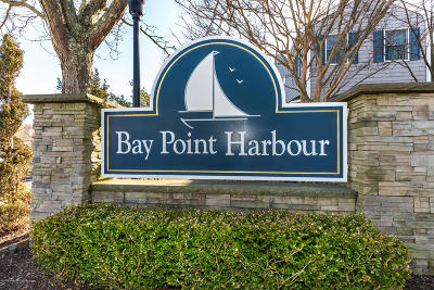 Point Pleasant Condo/Townhouse For Sale: 44 Bay Point Harbour