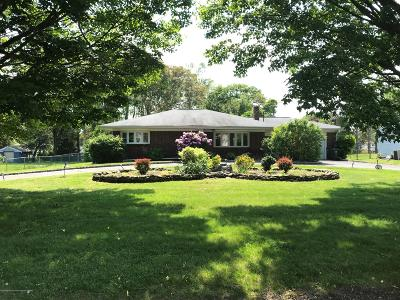 Hazlet Single Family Home For Sale: 7 Webster Drive