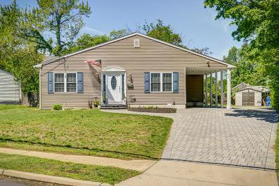 Hazlet Single Family Home For Sale: 42 Hazlet Avenue