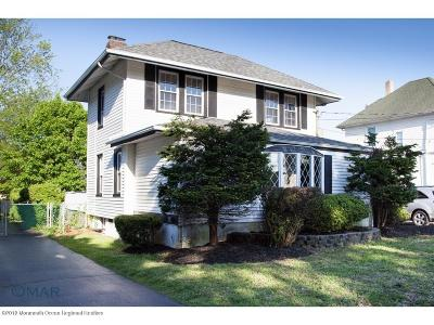 Long Branch, Monmouth Beach, Oceanport Single Family Home For Sale: 139 Norwood Avenue
