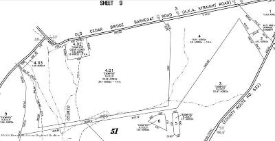 Residential Lots & Land For Sale: 320 Old Cedar Bridge Road