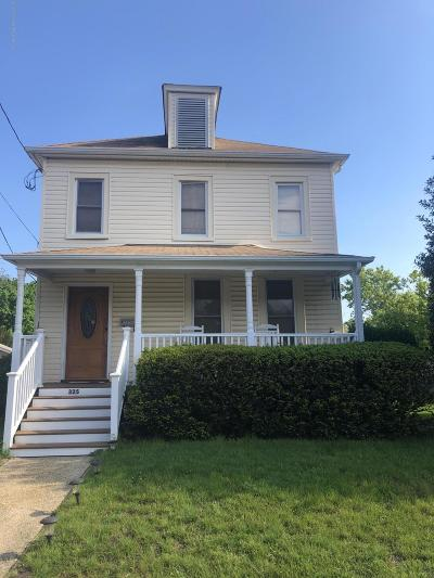 Monmouth County Single Family Home For Sale: 325 Roosevelt Avenue