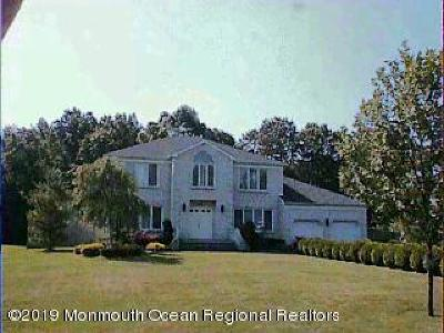 Monmouth County Single Family Home For Sale: 199 Union Hill Road