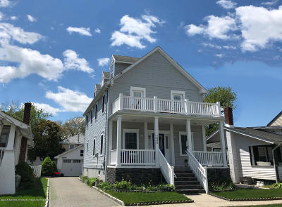 Belmar Single Family Home For Sale: 305 13th Avenue