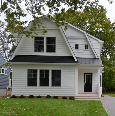 Sea Girt Single Family Home For Sale: 603 Philadelphia Boulevard
