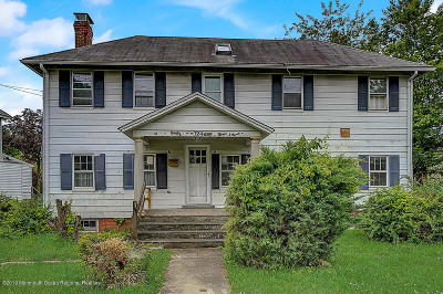 Eatontown Single Family Home Under Contract: 124 Broad Street