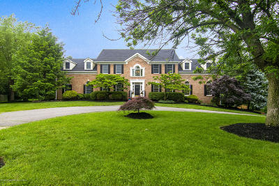 Holmdel NJ Single Family Home For Sale: $1,165,000