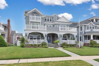 Avon-by-the-sea, Belmar Single Family Home For Sale: 19 Lincoln Avenue