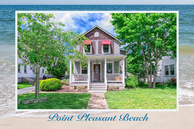 Point Pleasant Beach Single Family Home For Sale: 321 River Avenue