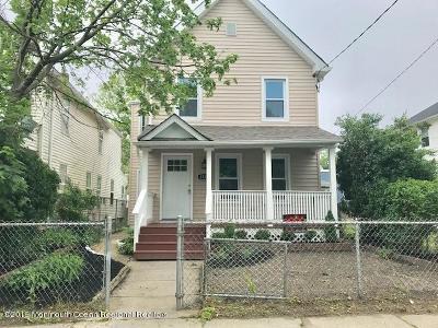 Asbury Park Single Family Home For Sale: 1130 Monroe Avenue