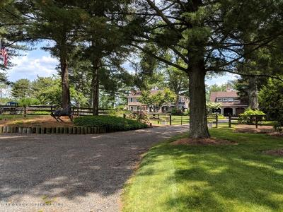 Monmouth County Farm For Sale: 1631 Martin Road