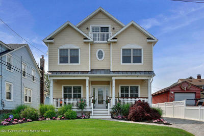 Avon-by-the-sea, Belmar Single Family Home For Sale: 801 C Street
