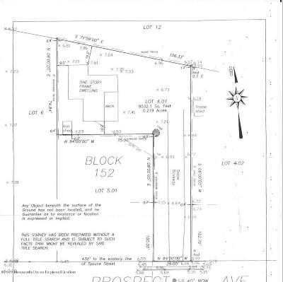 Residential Lots & Land For Sale: 423 Prospect Avenue