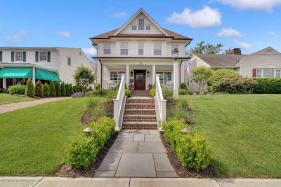 Monmouth County Single Family Home For Sale: 421 Sussex Avenue