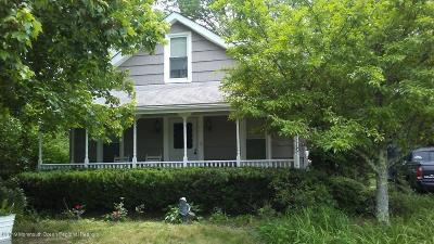 Morganville Single Family Home For Sale: 193 Tennent Road