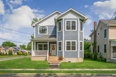 Manasquan Single Family Home For Sale: 33 Central Avenue