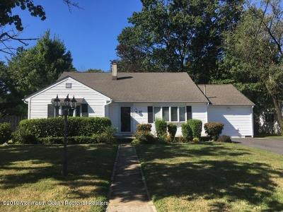West Long Branch Single Family Home For Sale: 37 Delaware Avenue