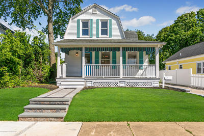 Manasquan Single Family Home For Sale: 84-84 1/2 Wyckoff Avenue