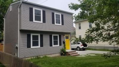 Asbury Park Single Family Home Under Contract: 1105 Sewall Avenue