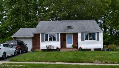 Hazlet Single Family Home For Sale: 16 Miriam Place