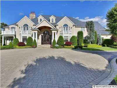 Atlantic Highlands Single Family Home For Sale: 15 Whipporwill Valley Road