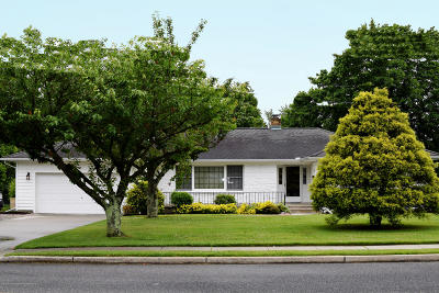 West Long Branch Single Family Home Under Contract: 68 Parker Road