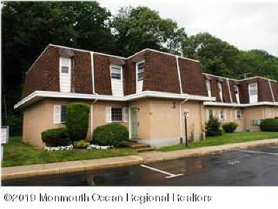 Monmouth County Condo/Townhouse For Sale: 321 Shore Drive #28